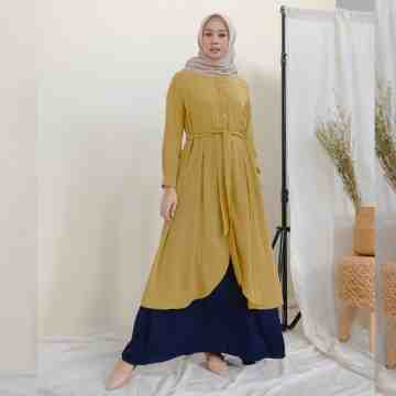 NEW TIMY DRESS - LEMON TWIST