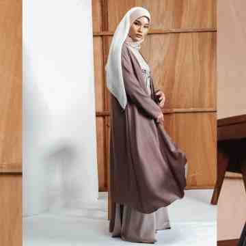 GYONA DRESS - MOCCA TAN