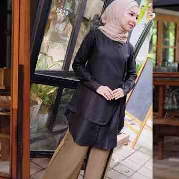LAMIA BLOUSE - BLACK