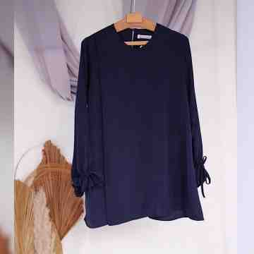 LAVY BLOUSE - ROYAL NAVY