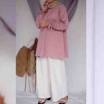 LAVY BLOUSE - PUFFY ROSE