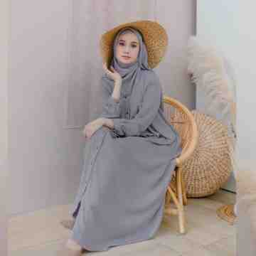 KAVA DRESS - WARM GREY
