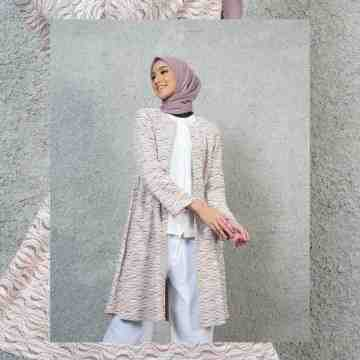 LONG CARDI OUTER VOL. 4 - PASTELROSE