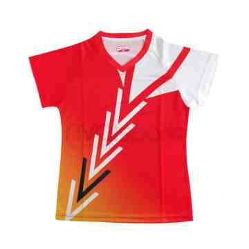 Baju Carlton AP 62110 Ladies (Red/Orange)