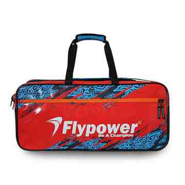 Tas Raket Flypower Zamrud 5 (Red/Sky Blue)