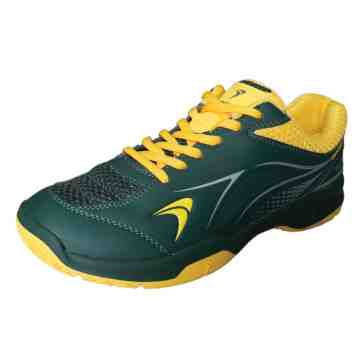 Sepatu  Badminton Flypower  Pawon 5 (Moss Green/Yellow/Silver)