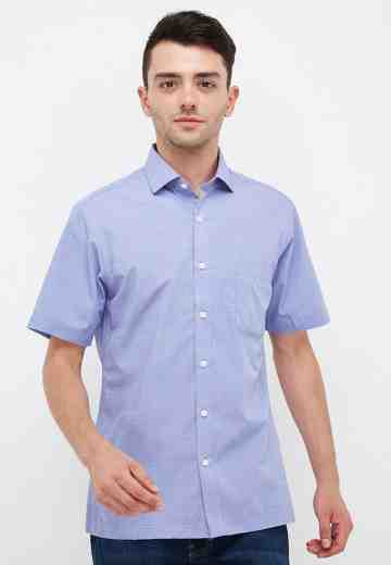 ETHAN WHITE Short Shirt Bamboo Fabric 902 BU image