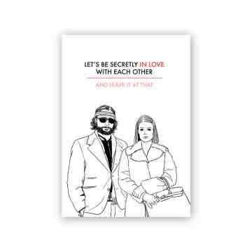 The Royal Tenenbaums Greeting Card