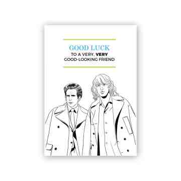 Zoolander Greeting Card