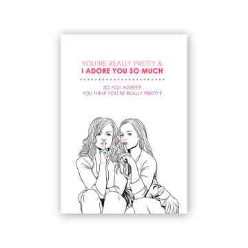 Mean Girls Greeting Card