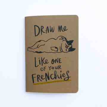 Frenchie Pocket Notebook