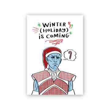 Night King Christmas Card
