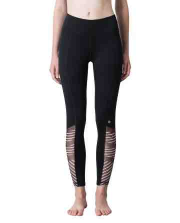 Block Stripe Leggings