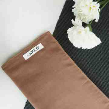 Cotton Voal Brown image