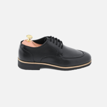 Derby Moc Toe Black
