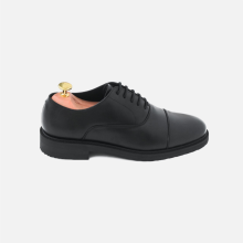 Oxford Plain Captoe Full Black