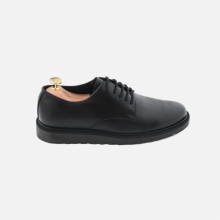 Flat Derby Plaintoe Full Black