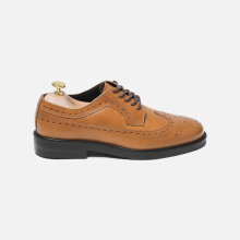 Derby Longwing Whiskey Tan