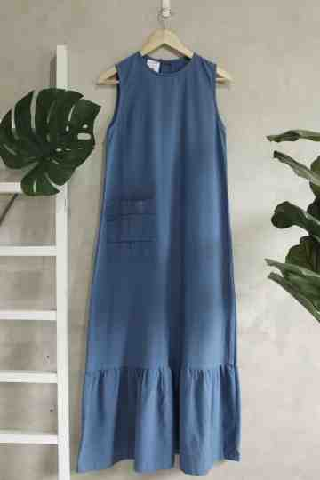 Pamela Dress (Blue)
