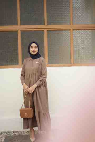 aleta dress reguler coffee image