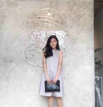 FINLEY DRESS - GRAY image