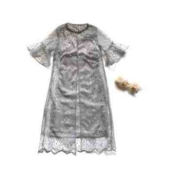 FLORIN DRESS - GRAY image