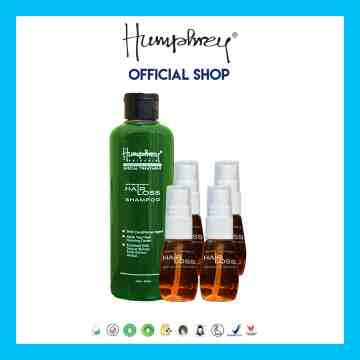 "Humphrey skin care Hairloss ""Small"" package (1 shampoo + 4 serum)"