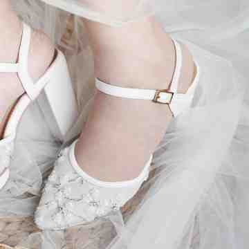 Lace Lynelle Wedding Shoes Hara