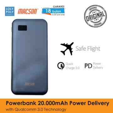 POWERBANK 202 20000mAh - GREY image