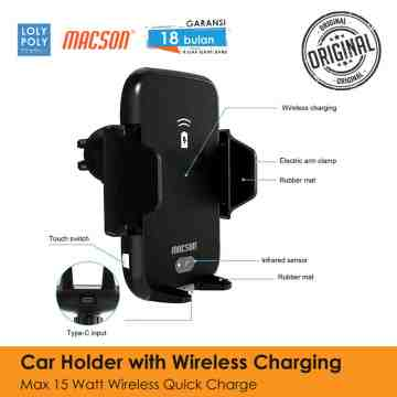 Car Holder With Wireless Charger 169 image