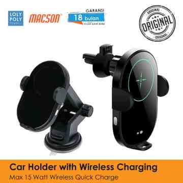 Car Holder With Wireless Charger 172 image
