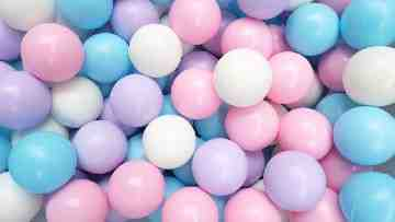 Bubble Gum Ball Isi 1000 Pcs