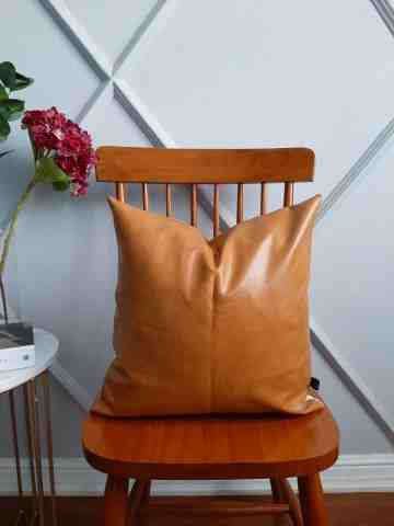 Cover Cushion Leather