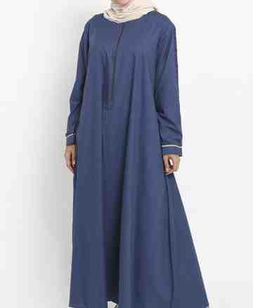 Asy-sya Dress - Navy