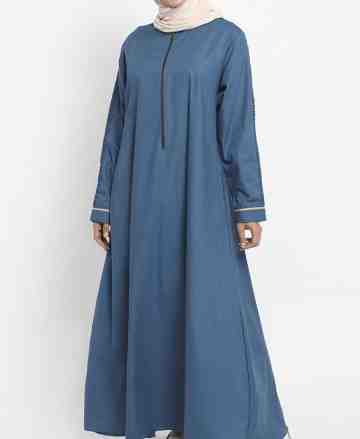 Asy-sya Dress - Biru Tosca