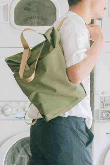 Convertible Bag - Grass Green image