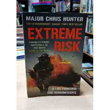 EXTREME RISK - A LIFE FIGHTING THE BOMBMAKERS image
