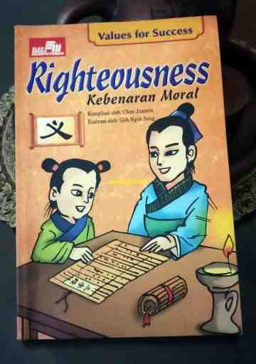 RIGHTEOUSNESS - KEBENARAN MORAL (SERI VALUES FOR SUCCESS) image