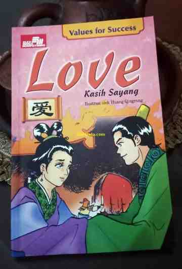 LOVE - KASIH SAYANG (SERI VALUES FOR SUCCESS) image