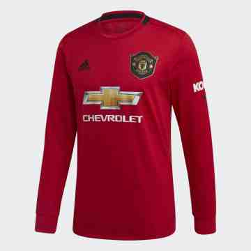 MANCHESTER UNITED HOME SHIRT L/S