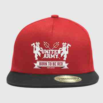 Snapback United Army Full Bordir Red