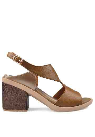 Eden Heels Sandals Brown