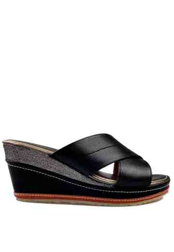 Melissa Wedges Sandals Black