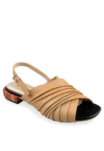 Glaze Abstract Slingback Cappuccino