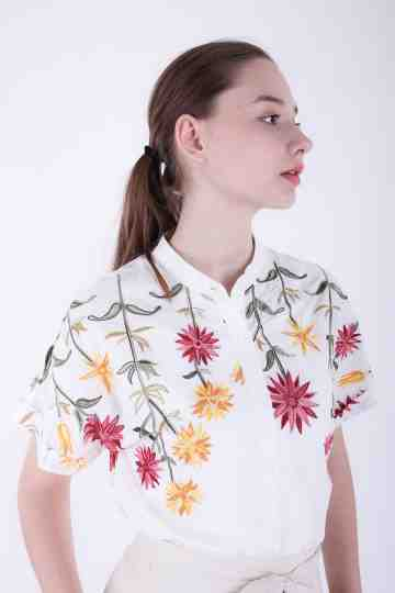 Irena Embroidery Blouse