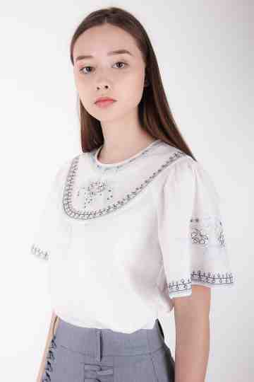 Linnet Embroidery Blouse