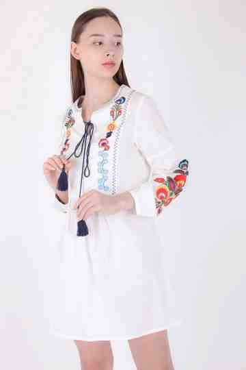Delany Embroidery Dress