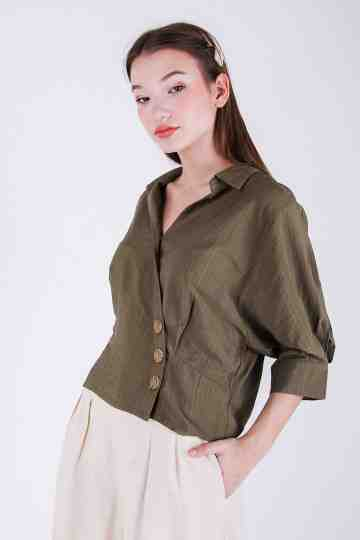 Callisa Collar Blouse