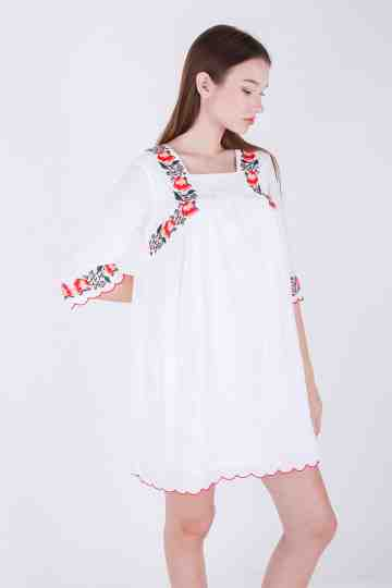 Haily Embroidery Dress