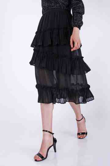 Ruffled Skirt 9930